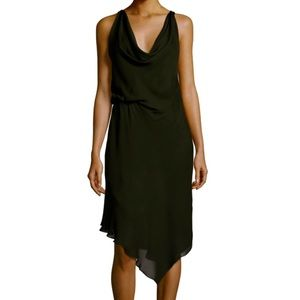 Haute Hippie 100% Silk Midi Dress